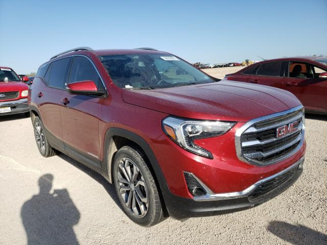 Salvage cars for sale from Copart San Antonio, TX: 2018 GMC Terrain SL