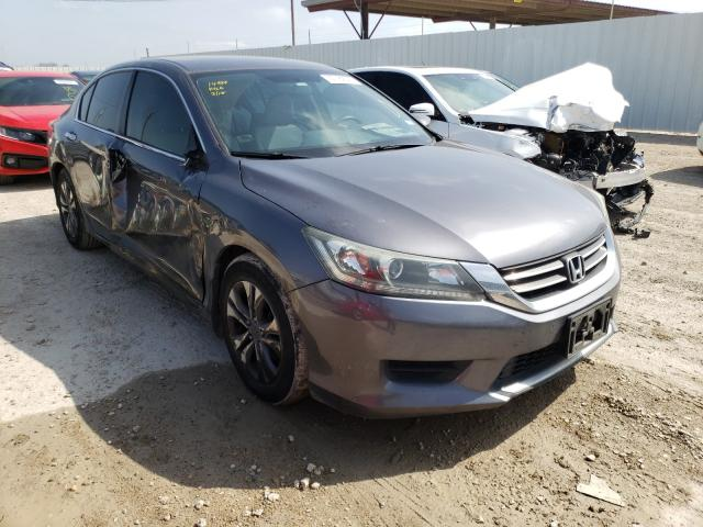 Salvage cars for sale from Copart Temple, TX: 2014 Honda Accord LX