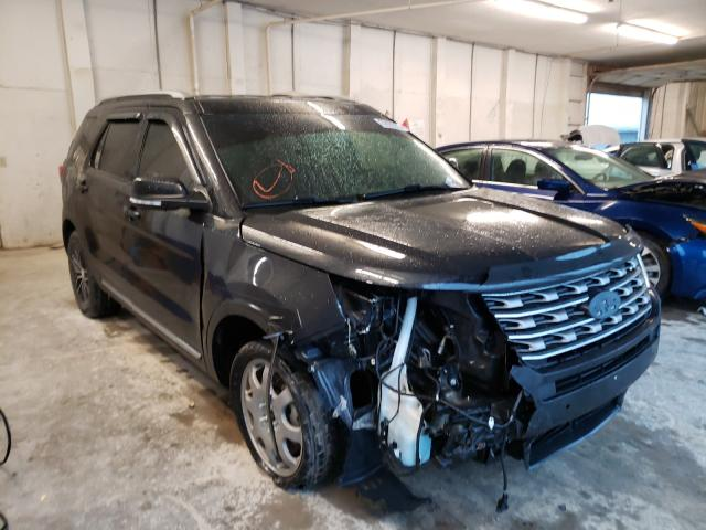 Salvage cars for sale from Copart Madisonville, TN: 2016 Ford Explorer X