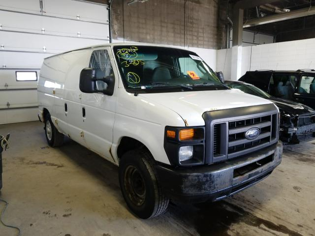 Salvage cars for sale from Copart Blaine, MN: 2008 Ford Econoline