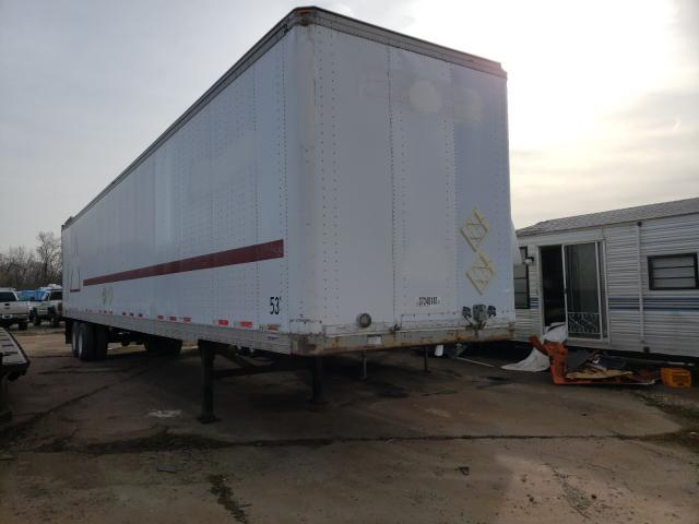 Salvage cars for sale from Copart Ellwood City, PA: 1998 Fruehauf Boxtrailer