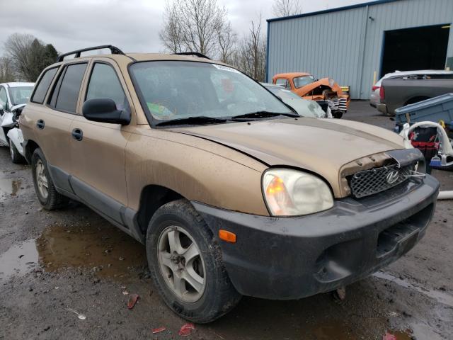 Burn Engine Cars for sale at auction: 2001 Hyundai Santa FE