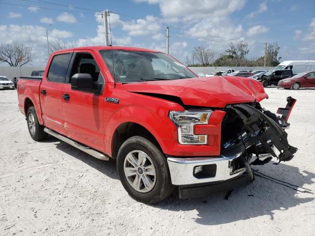 Salvage cars for sale from Copart Homestead, FL: 2017 Ford F150 Super