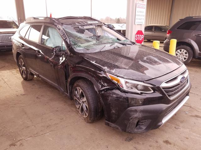 Salvage cars for sale from Copart Fort Wayne, IN: 2021 Subaru Outback LI