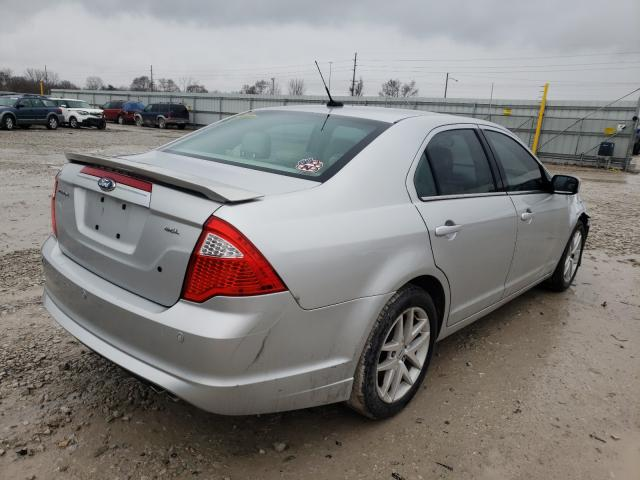 2012 FORD FUSION SEL - Right Rear View