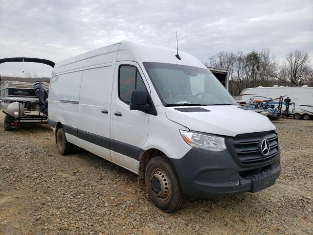 Salvage cars for sale from Copart Chatham, VA: 2019 Mercedes-Benz Sprinter 2