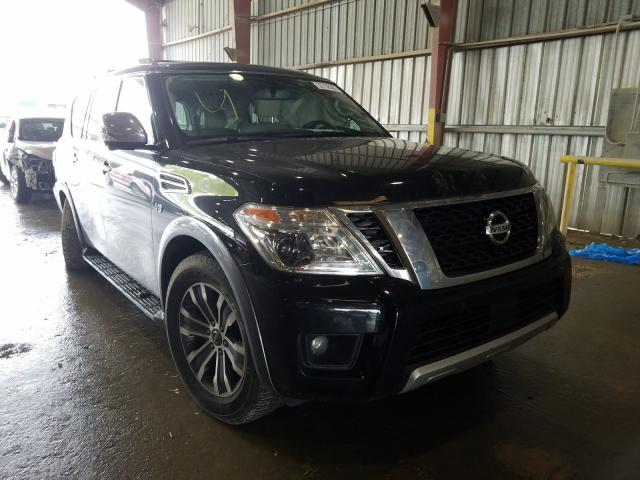Salvage cars for sale from Copart Greenwell Springs, LA: 2018 Nissan Armada