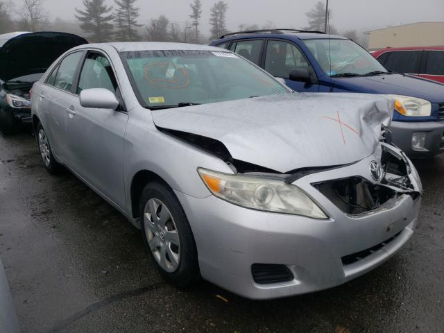 Salvage cars for sale from Copart Exeter, RI: 2011 Toyota Camry Base