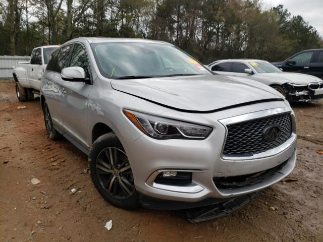 Salvage cars for sale from Copart Austell, GA: 2020 Infiniti QX60 Luxe