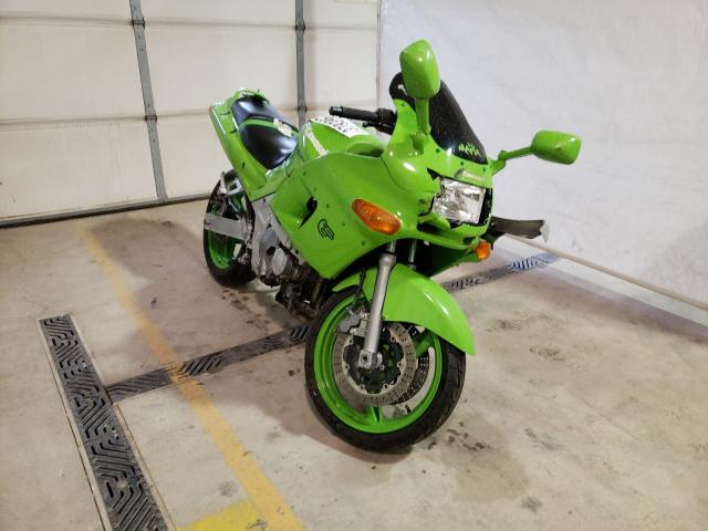 Salvage cars for sale from Copart York Haven, PA: 1996 Kawasaki ZX600