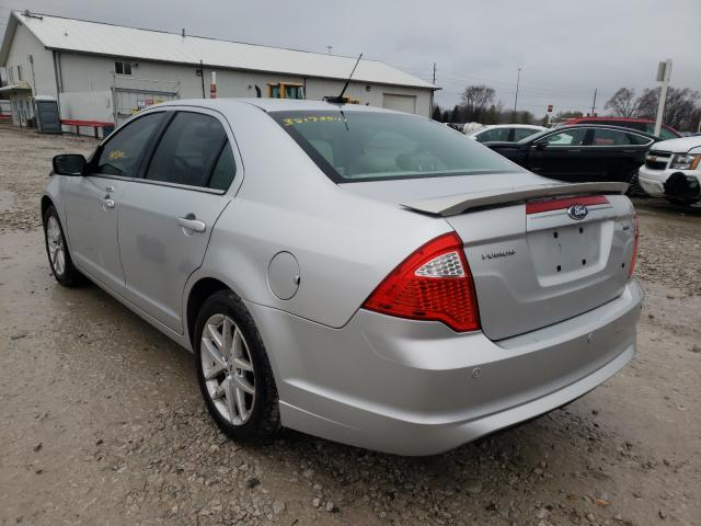 2012 FORD FUSION SEL - Right Front View
