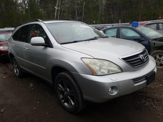 Salvage cars for sale from Copart Lyman, ME: 2006 Lexus RX 400