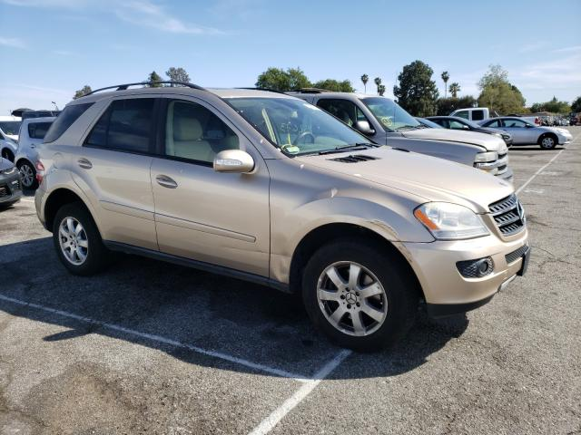 Mercedes-Benz salvage cars for sale: 2007 Mercedes-Benz ML 350