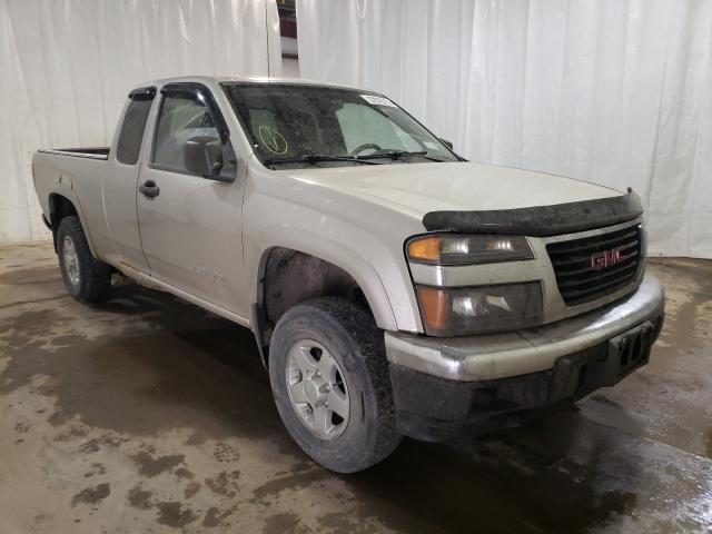 Salvage cars for sale from Copart Central Square, NY: 2005 GMC Canyon
