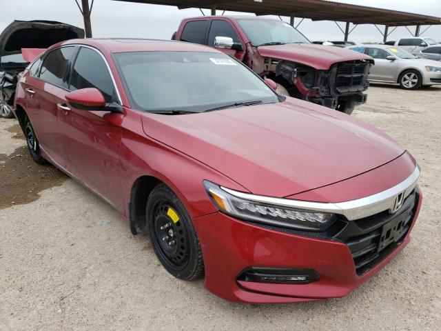 Salvage cars for sale from Copart Temple, TX: 2018 Honda Accord TOU
