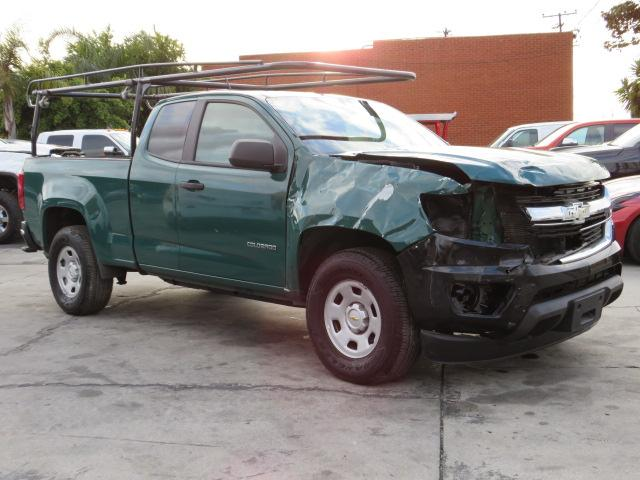 Salvage cars for sale from Copart Colton, CA: 2020 Chevrolet Colorado
