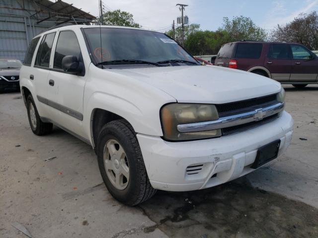 Salvage cars for sale from Copart Corpus Christi, TX: 2003 Chevrolet Trailblazer