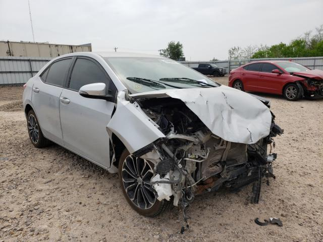 Salvage cars for sale from Copart Mercedes, TX: 2016 Toyota Corolla L
