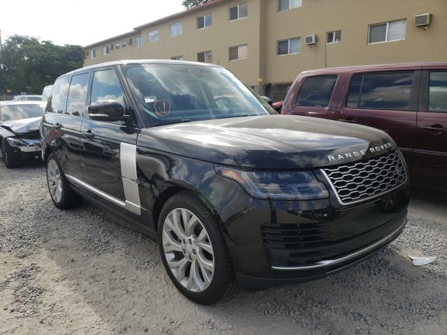 Salvage cars for sale from Copart Opa Locka, FL: 2021 Land Rover Range Rover