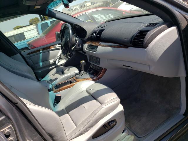 2003 BMW X5 3.0I - Left Rear View