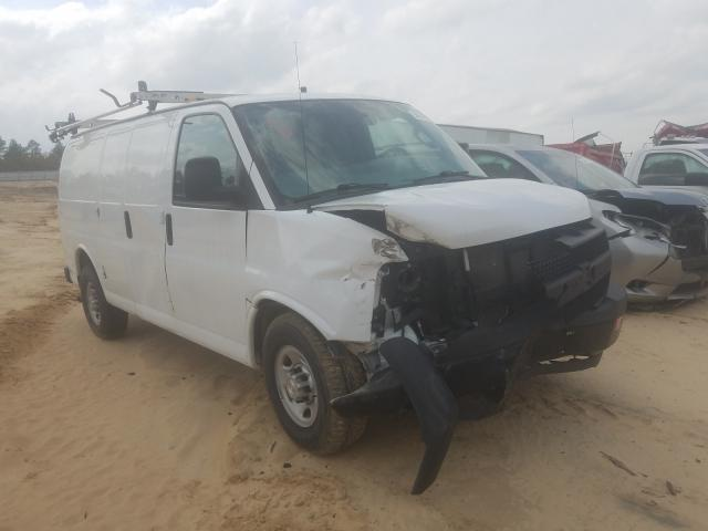 Salvage trucks for sale at Gaston, SC auction: 2017 Chevrolet Express G2