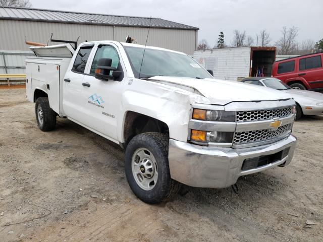 Salvage cars for sale from Copart Chatham, VA: 2019 Chevrolet Silverado