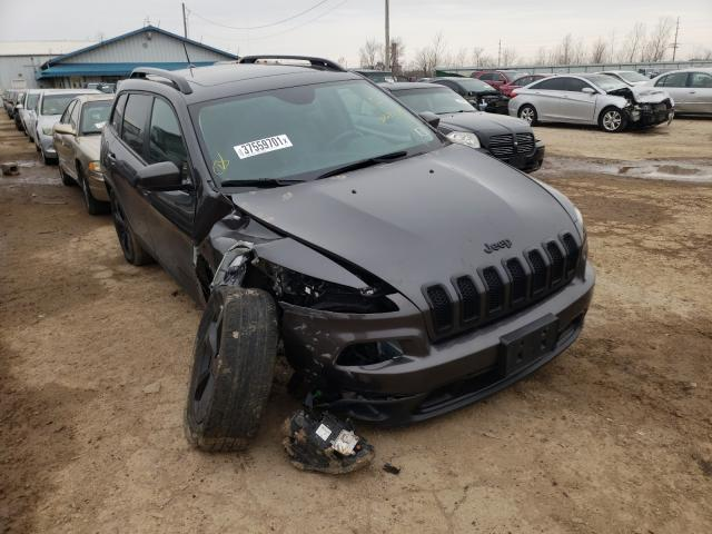 Salvage cars for sale from Copart Pekin, IL: 2017 Jeep Cherokee L
