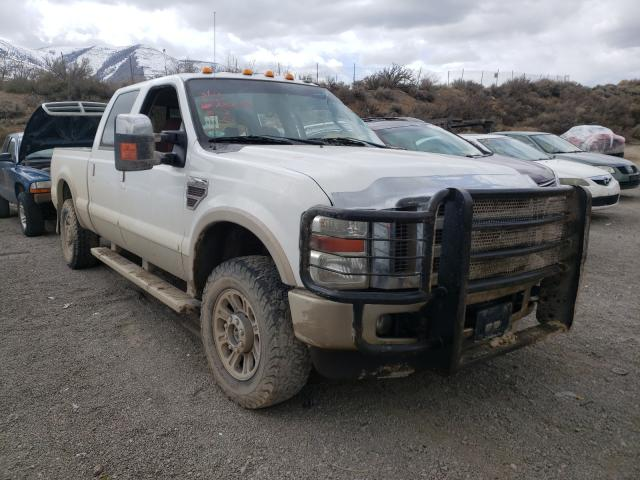 Salvage cars for sale from Copart Reno, NV: 2009 Ford F250 Super