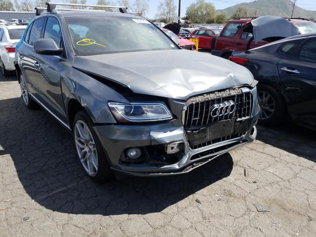 Salvage cars for sale from Copart Colton, CA: 2015 Audi Q5 Premium