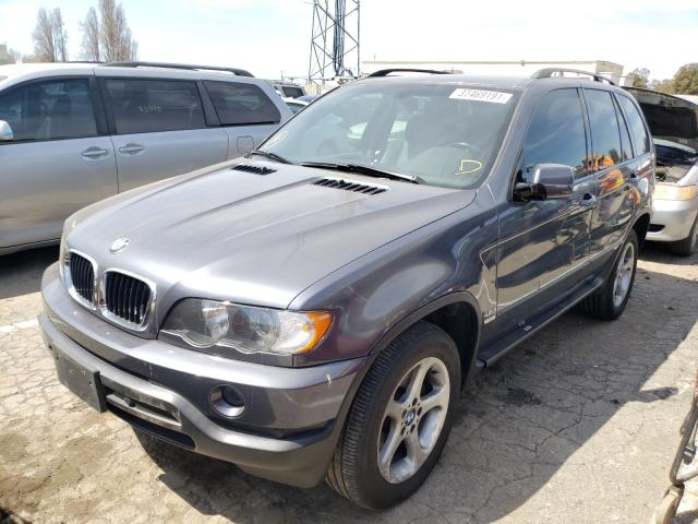 2003 BMW X5 3.0I - Left Front View