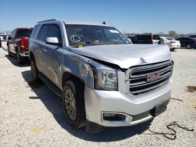 Salvage cars for sale from Copart San Antonio, TX: 2015 GMC Yukon SLT