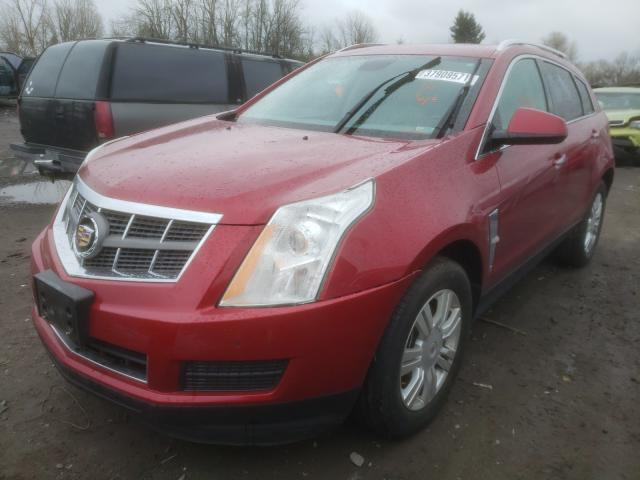 2011 CADILLAC SRX LUXURY - Left Front View