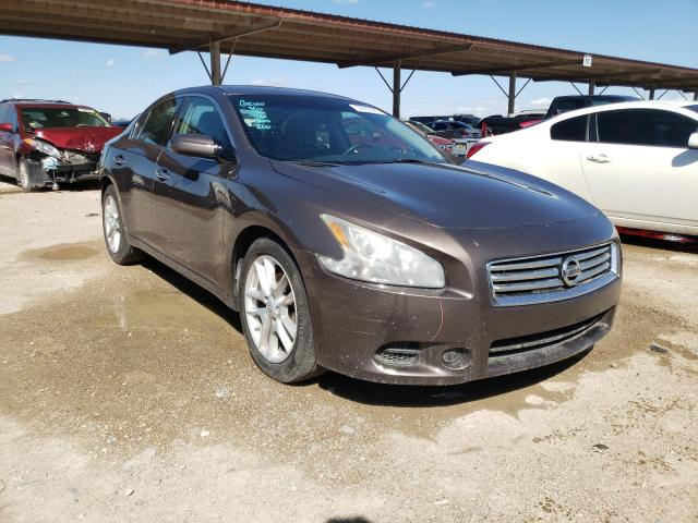 Salvage cars for sale from Copart Temple, TX: 2012 Nissan Maxima S