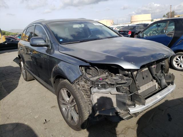 Salvage cars for sale from Copart Colton, CA: 2013 Audi Q7 Premium
