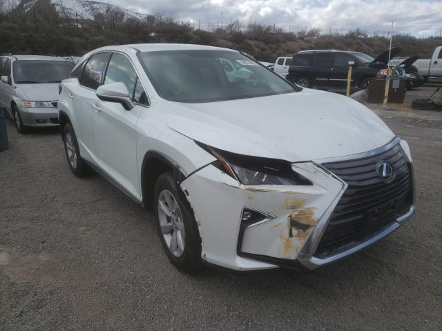 Salvage cars for sale from Copart Reno, NV: 2016 Lexus RX 350 Base