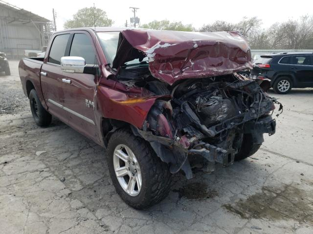 Salvage cars for sale from Copart Corpus Christi, TX: 2017 Dodge RAM 1500 SLT