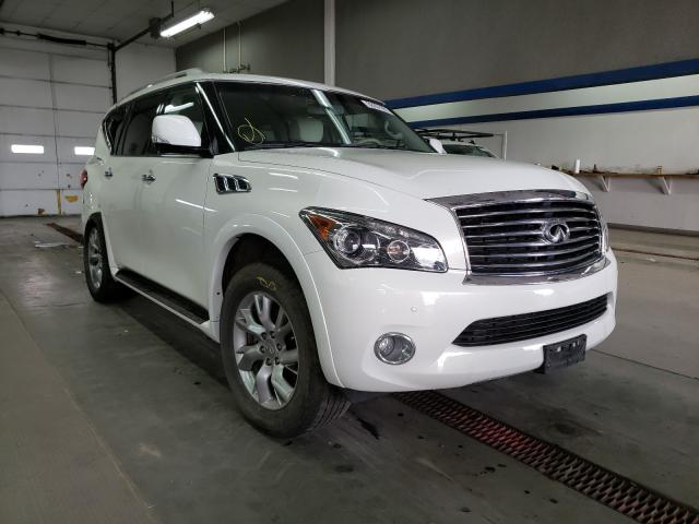 Salvage cars for sale from Copart Pasco, WA: 2013 Infiniti QX56