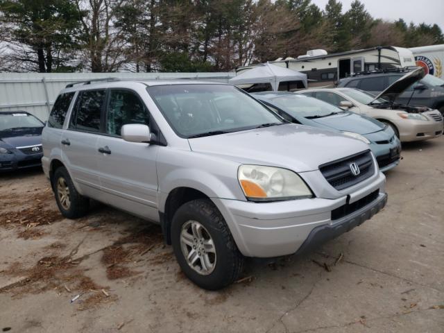Salvage cars for sale from Copart Eldridge, IA: 2005 Honda Pilot EX