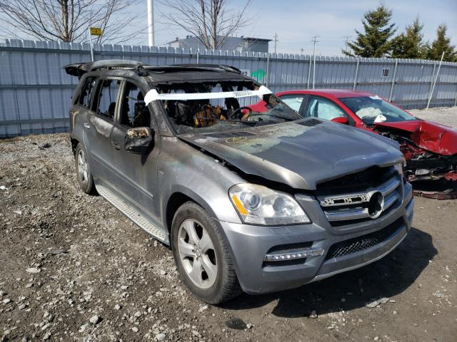 Salvage cars for sale from Copart Bowmanville, ON: 2010 Mercedes-Benz GL 350 BLU
