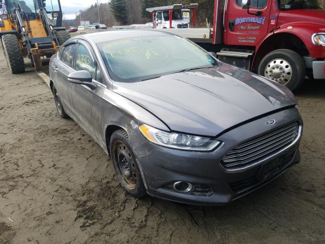 Salvage cars for sale from Copart West Warren, MA: 2014 Ford Fusion SE