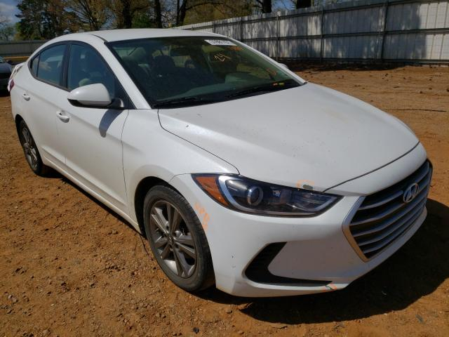 Salvage cars for sale from Copart Longview, TX: 2017 Hyundai Elantra SE