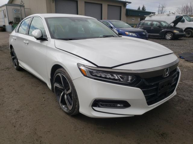 Salvage cars for sale from Copart Eugene, OR: 2019 Honda Accord Sport