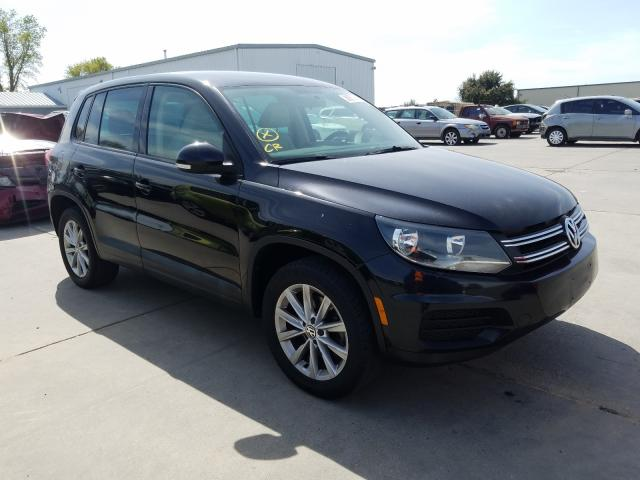 Salvage cars for sale from Copart Sacramento, CA: 2014 Volkswagen Tiguan S