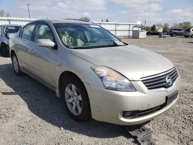 Nissan salvage cars for sale: 2009 Nissan Altima Hybrid