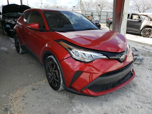 Salvage cars for sale from Copart Homestead, FL: 2020 Toyota C-HR XLE