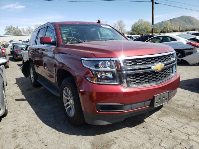 Salvage cars for sale from Copart Colton, CA: 2016 Chevrolet Tahoe C150