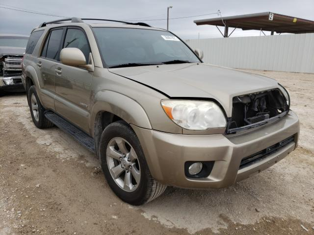 Salvage cars for sale from Copart Temple, TX: 2007 Toyota 4runner LI