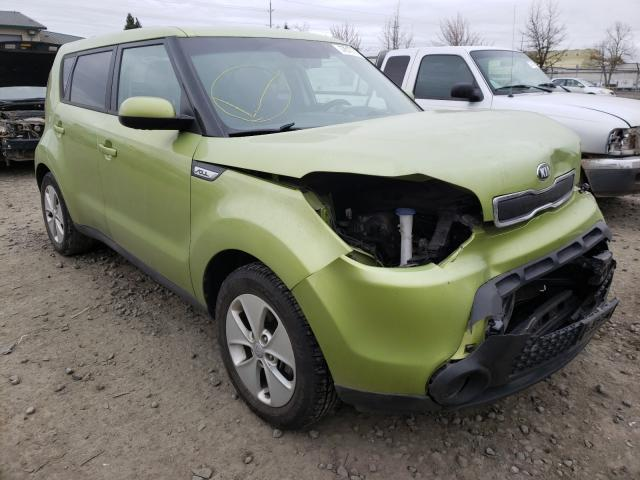 Salvage cars for sale from Copart Eugene, OR: 2016 KIA Soul