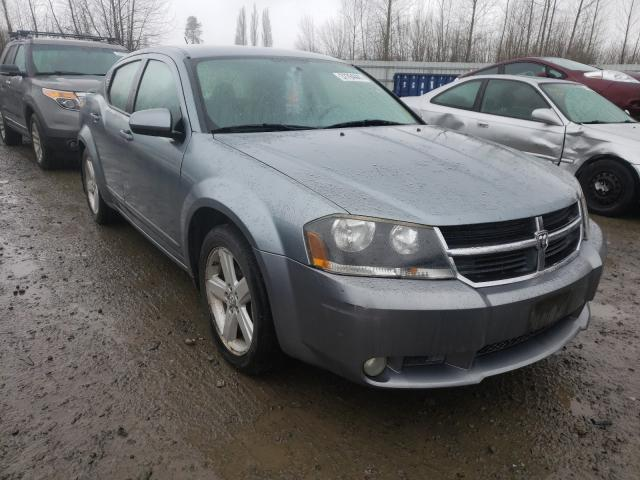 Salvage cars for sale from Copart Arlington, WA: 2008 Dodge Avenger R