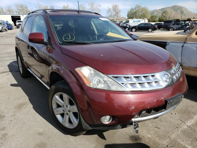 Salvage cars for sale from Copart Colton, CA: 2007 Nissan Murano SL